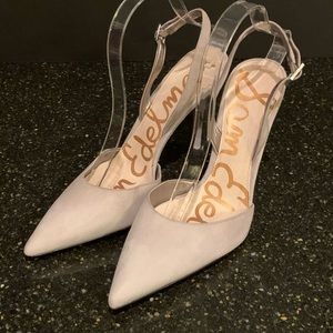 Sam Edelman Dora Suede Point Toe Heels. Size 10